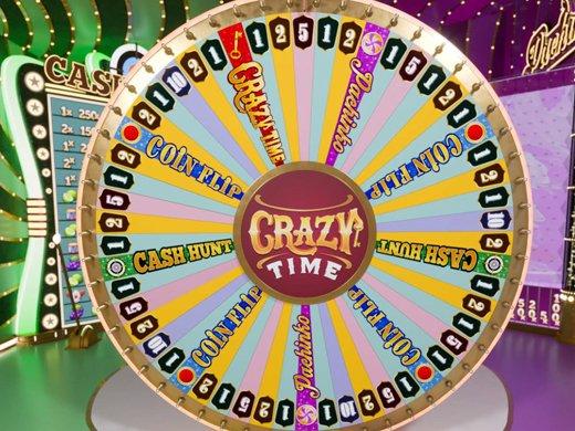 presentation jeu crazy time